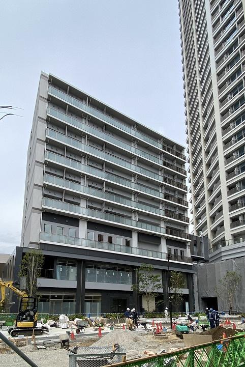 シティタワー武蔵小山レジデンス棟の外観