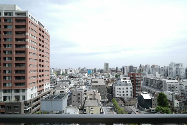 シティタワー武蔵小山レジデンス棟の眺望