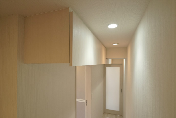 テラスファミリア稔の吊戸棚