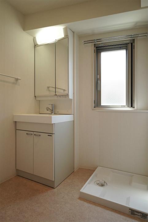 テラスファミリア稔の洗面脱衣室